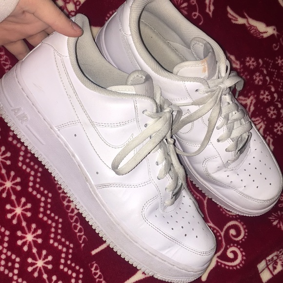 Nike Shoes | All White Low Top Air